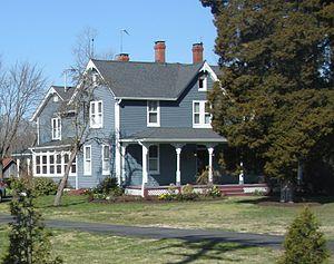 Whiskey Bottom Road - Joseph Travers House built in 1862