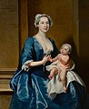 Joseph Highmore (1692-1780) - Johanna, Mrs Robert Warner of Bedhampton, and Her Daughter, Kitty (d.1772), Later Mrs Jervoise Clarke Jervoise - 769115 - National Trust.jpg