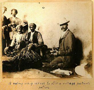 Joseph Cochran - Dr Joseph Plumb Cochran working in a Christian mission in Urmia, Iran in the 1890s