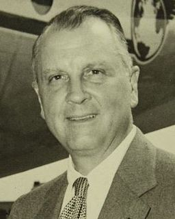 Juan Trippe American commercial aviation pioneer and founder of Pan American World Airways