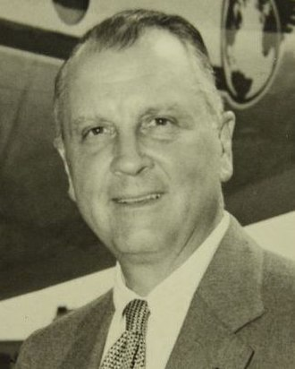 Juan Trippe - Image: Juan Trippe with Stratocruiser (cropped)