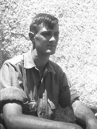 Jules Eichorn - Jules Eichorn in the Sierra Nevada in 1931