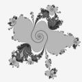 Julia set f(z)=z^6+A*z+c A=(-33725751,810162*i)*2^-25 c=(-3096576+8798208*i)*2^-25.png