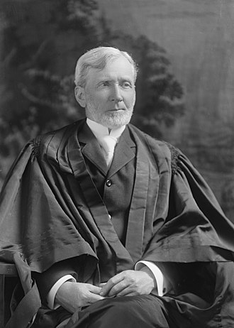 Joseph McKenna - McKenna in his judicial robes