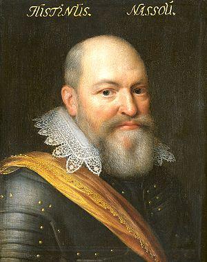 Justinus van Nassau - Portrait of Justinus of Nassau by Jan Antonisz. van Ravesteyn