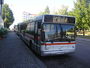 Volvo B10L - Jyväskylän Liikenne B10L