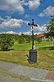 Kříž na křižovatce u odbočky na Velenov, Valchov, okres Blansko (02).jpg