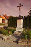 Kříž v obci, Voděrady, okres Blansko.jpg