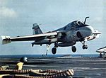 KA-6D VA-196 landing on USS Enterprise (CVAN-65) c1973.jpg