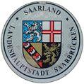 KFZ-Zulassungsplakette der Landeshauptstadt Saarbrücken-neu.JPG