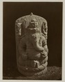 KITLV 28252 - Isidore van Kinsbergen - Sculpture of Ganesha at the residency in Kediri - 1866-12-1867-01.tif