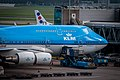 KLM Boeing 747 at Amsterdam Airport Schiphol (10713121455).jpg