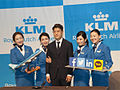 KLM Royal Dutch Airlines KakaoTalk service launching with Lee Chung-Yong from acrofan (2).jpg