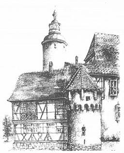 KSTBB Handelslehranstalt im Kurmainzischen Schloss Tauberbischofsheim
