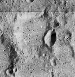 Kaiser (lunar crater) - Image: Kaiser crater 4107 h 2 4107 h 3