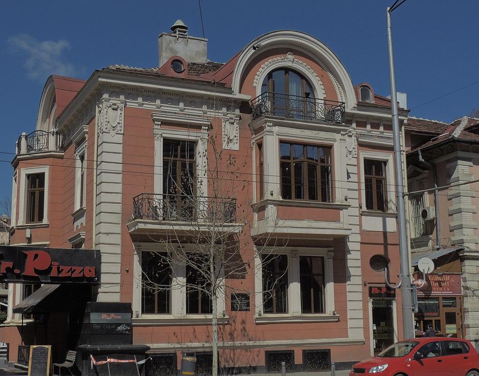 Kalin Naydenov House 1 53 Vasil Levski Blvd Sofia