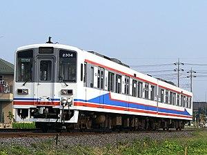Kantō Railway - Image: Kanto Railway 2304 Moriya Station 20080713