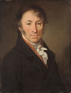 Nikolay Karamzin - Portrait of Karamzin by Vasily Tropinin, 1818.