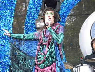 Karen O - Karen O at Bumbershoot 2009.