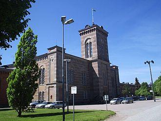 Karlsborg Fortress - The garrison church.