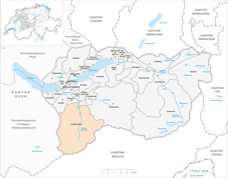 Ficheiro:Karte Gemeinde Lauterbrunnen 2010.png