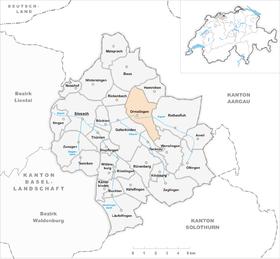Map of Ormalingen