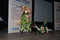Kartikeya with Peacock - Mahisasuramardini - Chhau Dance - Royal Chhau Academy - Science City - Kolkata 2014-02-13 2848.JPG
