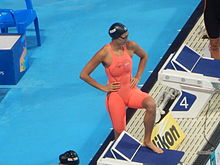 Kazan 2015 - Lawrence 200m breast final.JPG
