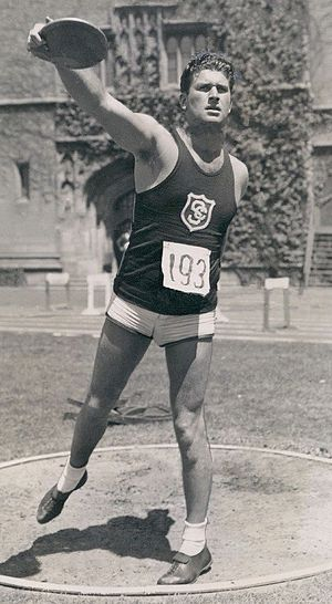 Ken Carpenter (athlete) - Carpenter in 1936