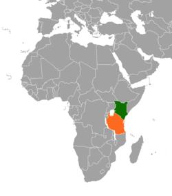 Kenya–Tanzania relations - Wikipedia