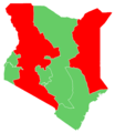 Kenyan presidential election, 2002 Results by province.png