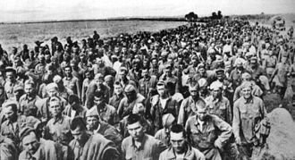 103rd Rifle Division (Soviet Union) - Soviet prisoners of war after the Second Battle of Kharkov
