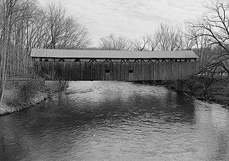 Pymatuning Township, Mercer County, Pennsylvania - Kidd's Mills Covered Bridge