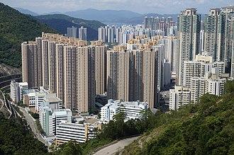 Tiu Keng Leng - Tiu Keng Leng was rebuilt from squatter area to high-rise housing estate