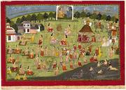 King Yudhisthira Performs the Rajasuya Sacrifice