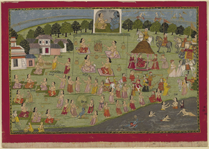 Janapada - Vedic King performs the Rajasuya Sacrifice.