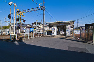 Tomari Station (Mie) railway station in Yokkaichi, Mie prefecture, Japan