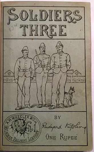 Soldiers Three - First publication
