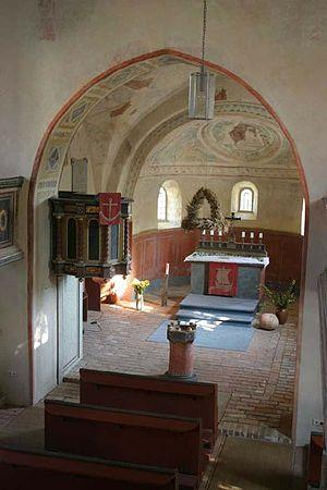 Axien - Image: Kirche Axien 2