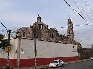 Apan - Image: Kirche in Apan fcm