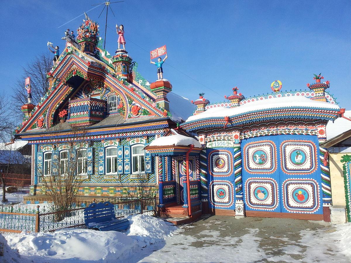 Bemerkenswert Russisches Holzhaus Referenz Von