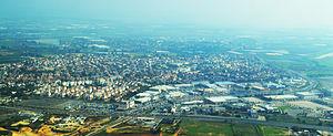 Kiryat Ekron - Image: Kiryat Ekron Aerial View