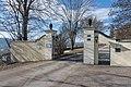 Klagenfurt Annabichl Ehrentaler Strasse 119 Schloss Ehrenthal Einfahrtstor 25012016 0315.jpg