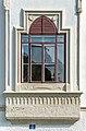 Klagenfurt Viktring Stift Prälatur Straßenseite 1. Stock Erkerfenster 06102020 8238.jpg