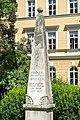 Klagenfurt Voelkermarkter Ring 27 Wulfen-Denkmal 06072016 3688.jpg