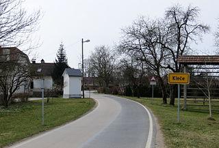 Kleče pri Dolu Place in Upper Carniola, Slovenia