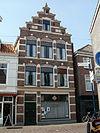 foto van Bedrijfspand met bovenwoning in Hollandse neorenaissancesstijl