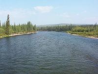 Klondike River crossing Dempster Highway 1.JPG