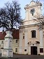 Kościół klasztorny reformatów, ob. par. pw. św. Mikołaja, 2 poł. XVIII Łabiszyn 7.JPG