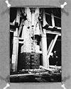 kolom tijdens herstel, gezien uit zijbeuk - ede - 20066782 - rce